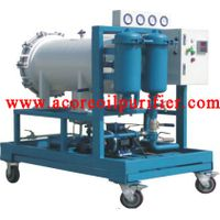 Coalescence-separation Diesel Fuel Oil Filtration Machine