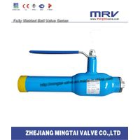 Fully Welded Air Released Ball Valve