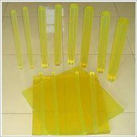 Polyurethane sheet and rod