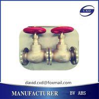 CXD brand JIS marine bronze or brass valve