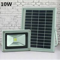 Solar Powered LED Flood Light 10W Garden Spotlight Outdoor Landscape Spotlight Solar Street Night Li