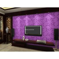 Eco friendly 3D glue on wall panel plant fiber material bathroom hall decor *33 thumbnail image