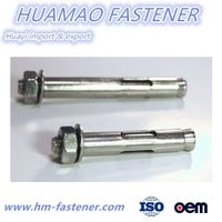 A2-70 Stainless Steel SS304 Sleeve Anchor with Hex Nut thumbnail image