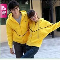 Fleeces coat Autumn clothing New arrival Corea batwing thicken couple fleeces L62 thumbnail image