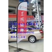 3m aluminum beach flagpoles for advertising