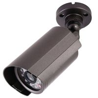 Bullet Integrated CCTV Camera, Outdoor Weatherproof, 500TVL