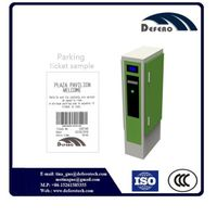 Automated parking system large capacity entry ticket dispenser thumbnail image