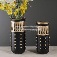 Light Luxury Creative Metal Craft Vase