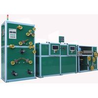 Horizontal double layers high-speed wire wrapping machine
