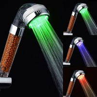 LED Temperature Sensor Colors Changing Red Green Blue LED Shower Head thumbnail image