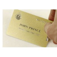 Gold metallic card thumbnail image