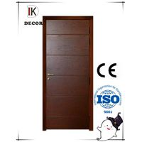 room door design mdf flush solid wood door
