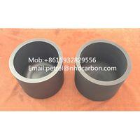 Aluminized graphite crucible for aluminum evaporation film