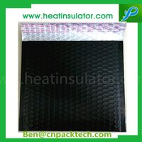 Black Matt Metallic Bubble Bags Insulated Mailers