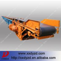 Automatic truck loading conveyor