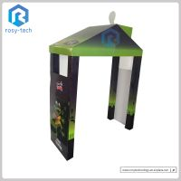 Hut Shape Pop Up Cardboard Products Display Stand Corrugated Floor Display Rack Paper Display thumbnail image