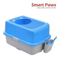 New top entry cat litter box with scoop and holder new pet products cat toilet patent products