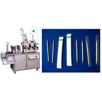 autoamtic toothpick wrapping packing packaging machine with logo printing function