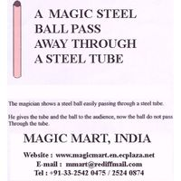 MAGIC STEEL BALL  AND TUBE