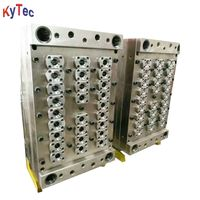 Self Lock Hot Runner Valve Pin Gate PET Preform Mould For Different Preform Gram And Neck Diameter
