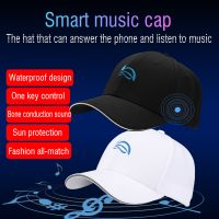 Newest Smart Sport Cap Wireless Bluetooth Call Headset Sun Protection Music Hat thumbnail image