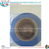 Nylon Thread Clear Flexible Plastic PVC Vinyl Door Strip Curtain thumbnail image