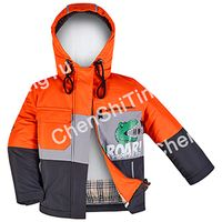Fashionable and trendy warm color children's cotton clothing thumbnail image