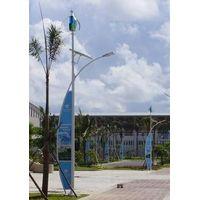 Street lighting wind turbines