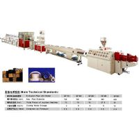 PVC  pipe extrusion production line  (XD)