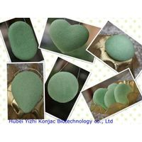 greeen tea konjac sponge