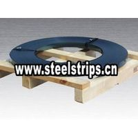 blue steel strapping ribbon