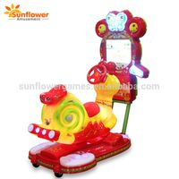 Coin operated music snails video kiddie rides, electronic ride on for small kids thumbnail image