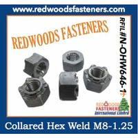 Hex weld nut N-OHW646-1 thumbnail image