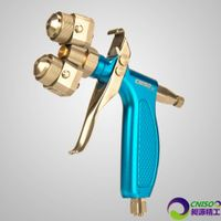 Manual Chrome Two Head Spray Gun(H-S2-C2)