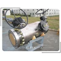 F304 Flanged Twin (Double) Ball DBB Ball Valve with SS316 Needle Valve thumbnail image