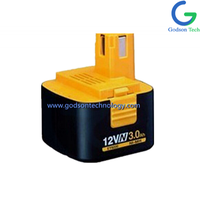Power Tool Battery Panasonic-12V Ni-Cd/Ni-MH