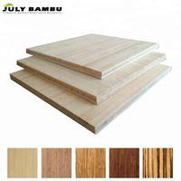 JulyBambu 100% Solid Bamboo Board Natural 6 to 12mm Bamboo Panel for Table Top