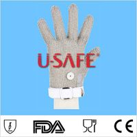 New Safety Cut Proof Stab Resistant Stainless Steel Mesh Butcher Glove thumbnail image