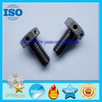 Customized Special Hex Head Bolt With Hole(as drawing),Auto fasteners,Auto wheel hub bolt,Auto parts thumbnail image