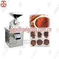 Stainless Steel Cocoa Beans Powder Grinder Machine|Cacao Powdering Machine