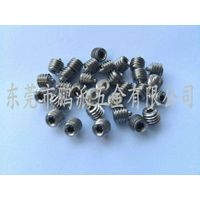 Stainless steel Phillips security set screws  M6*7