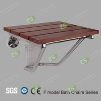Safety Wooden Bathroom Shower Seat Made By Jinan Hengsheng