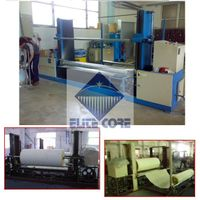 PLC touch screen automatic foam peeling machine