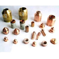 Plasma cutter spare parts and consumables