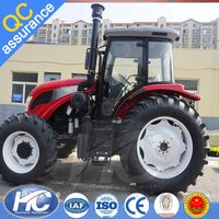 Domestic famous engines agricultural machinery 90 hose power farming tractor from Luoyang