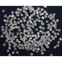 man made white HPHT diamond round