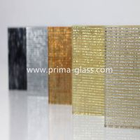 metal glass wire mesh laminated glass