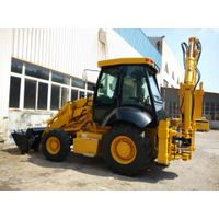 Hydraulic pilot control 4x4 0.8-1.2m3 bucket capacity backhoe loader