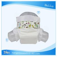 Free sample high quality competitive price baby diaper with OEM Brand