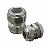 Waterproof Brass Cable Gland Silicone Rubber Insert Type